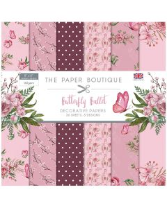 The Paper Boutique Butterfly Ballet - 8x8 Paper Pad