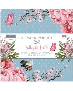 The Paper Boutique Butterfly Ballet - 5x5 Sentiments Pad