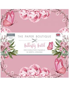 The Paper Boutique Butterfly Ballet - 7x7 Panel Pad