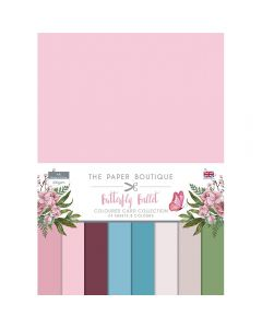 The Paper Boutique Butterfly Ballet - Colour Card Collection
