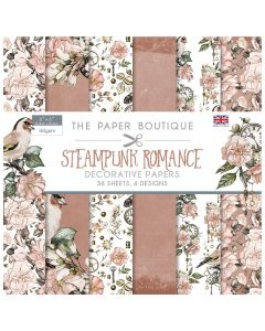 Creative Expressions The Paper Boutique Steampunk Romance - 6x6 Paper Pad