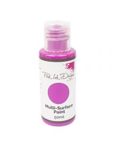 Pink Ink Multi Surface Paint - Hot Pink Shimmer