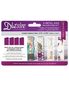 Die'sire Create-a-Card Kinetic Metal Die Die - Decorative Edges Set 1 (Original)