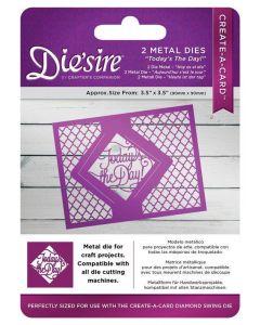 Die'sire Kinetic Inlay Metal Die - Today's The Day! (Original)