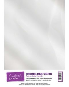 Crafter's Companion Printable Inkjet Acetate - 8 pack