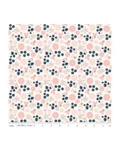 Riley Blake Blush Fabric - RBSC8011 CREAM