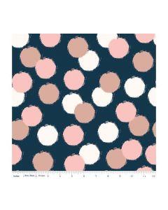 Riley Blake Blush Fabric - RBSC8014 BLUE