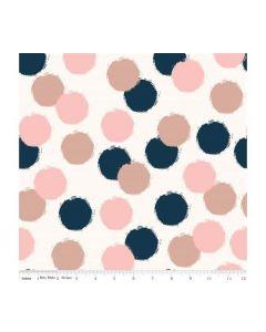 Riley Blake Blush Fabric - RBSC8014 CREAM