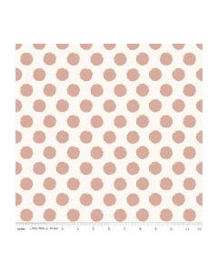Riley Blake Blush Fabric - RBSC8016 CREAM