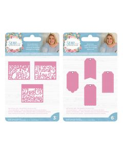 Sara Signature Sew Homemade Build-a-tag and Cut-In Sentiments Bundle