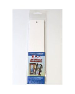 Stix2 Die Cut White Bookmarks - 10 pack
