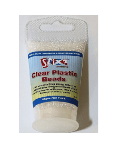 Stix2 Clear Plastic Beads