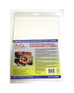 Stix2 Iron on Adhesives Use on Delicate Materials- A4 Sheets