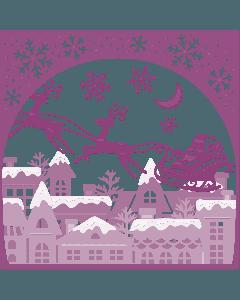 Gemini Create-a-Card Build a Scene Metal Die - Christmas Spirit