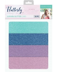 Sara Signature Flutterby Collection - Luxury Glitter Card