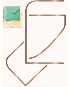 Sara Signature Sew Lovely Multi Media Die - Envelope Clutch Bag