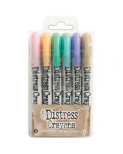 Tim Holtz Distress Crayons - Set 5