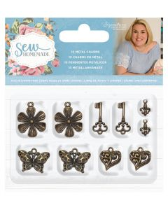 Sara Signature Sew Homemade - Metal Charms