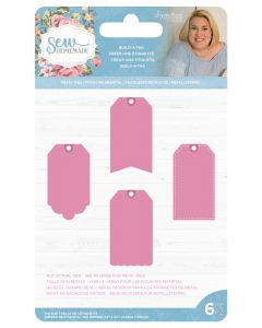 Sara Signature Sew Homemade Metal Dies - Build-A-Tag