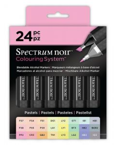 Colouring System by Spectrum Noir 24 Pen Set - Pastels