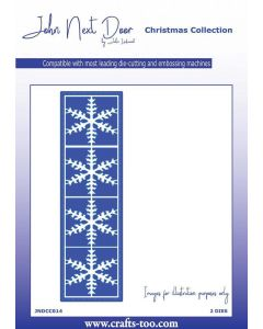 John Next Door Christmas Collection Die Set - Snowflake Panel