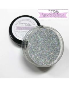 Stamps by Chloe Sparkelicious Glitter - Silver Frost