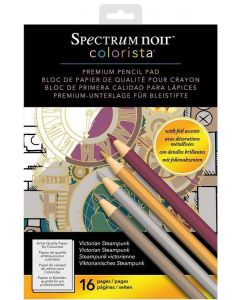Spectrum Noir Colorista A4 Pencil Pad - Victorian Steampunk