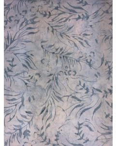 Sew Simple Batik Stamp Fabric - Ice Leaf
