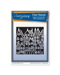 Claritystamp Townhouse A6 Stamp Set - Negative