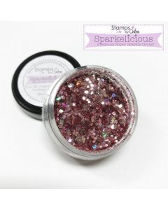 Stamps by Chloe Sparkelicious Glitter - Pink Champagne