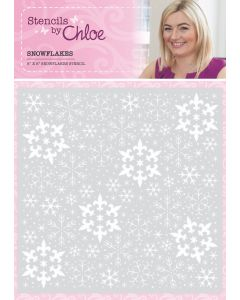 Stencils by Chloe - Snowflakes Stencil (dispatching July 26th)