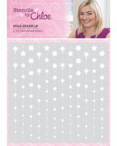 Stencils by Chloe - Star Sparkle Stencil (dispatching July 26th)