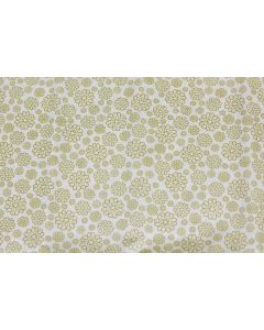 Threaders Loving Meadow Fabric - Summer Bloom (Gold)