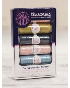 Threaders Cottage Garden - 6 Piece Thread Box