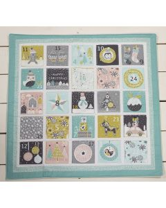 Threaders Merry and Bright Fabric - Advent Calendar