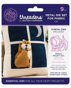 Threaders Animals Fabric Die - Cat