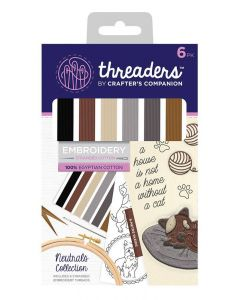 Threaders Embroidery Stranded Cotton - Neutrals Collection