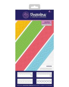 Threaders Quilting Stencils - Borders