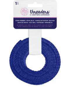 Threaders Strap Webbing - Royal Blue