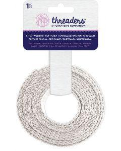 Threaders Strap Webbing - Soft Grey
