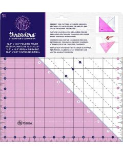 "Threaders 12.5"" x 12.5"" Folding Ruler"