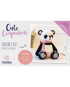 Threaders Cute Companions Crochet Kit - Pippa the Panda