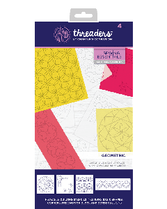 Threaders Quilting Stencils - Geometric