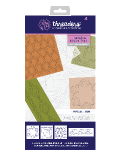 Threaders Quilting Stencils - Medallion