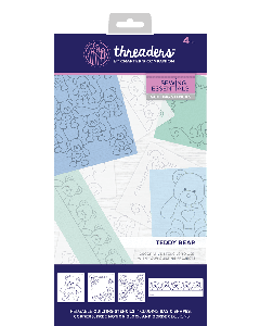 Threaders Quilting Stencils - Teddy Bear