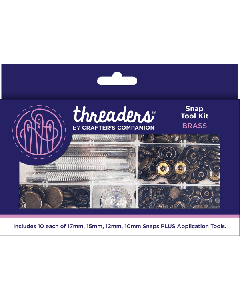 Threaders Snap Tool Kit - Brass