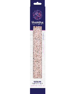 Threaders Sequin Fabric - Rose Gold and Gold
