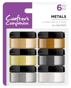 Crafter's Companion Glitters - Metals