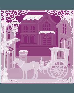 Gemini Create-a-Card Build a Scene Metal Die - Classic Christmas