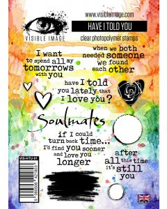 Visible Image Have I Told You Stamp Set